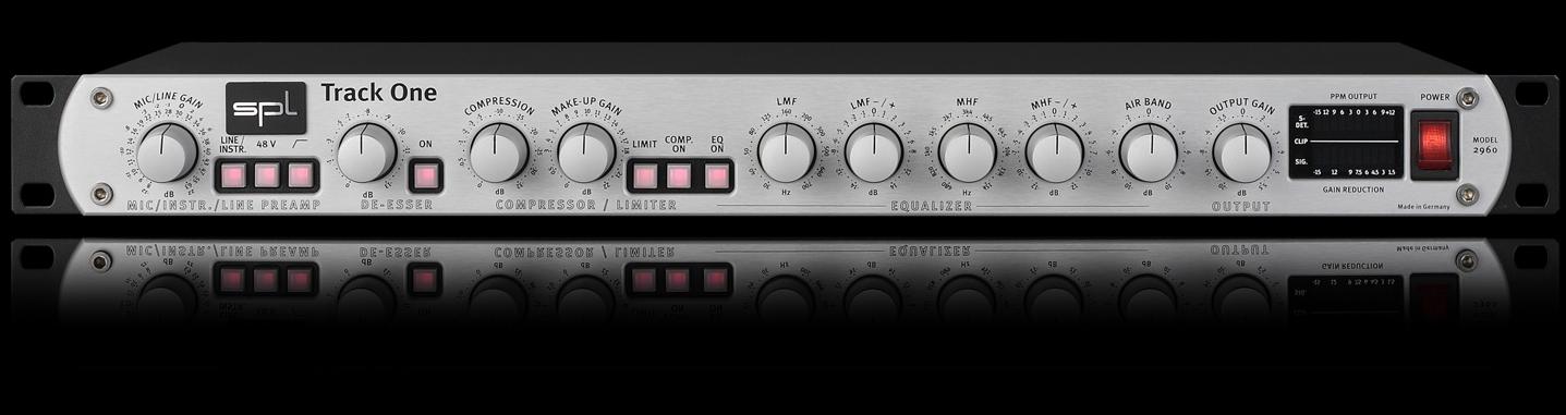 ה-Track One - ערוץ הקלטה איכותי להקלטות מ-SPL